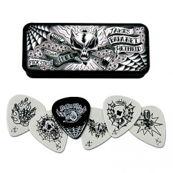 BOX IN METALLO 6 PLETTRI DUNLOP JPH01T088 JAMES HETFIELD 0.88