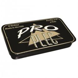 BOX METALLO PLETTRI D'ANDREA PRO PLECS 6 pz 354