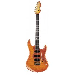 CHITARRA BLADE CALIFORNIA CUSTOM CC-EG HB HONEY BURST c/astuccio