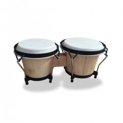 COPPIA BONGOS SOUNDSATION SB-NW10-NS NATURAL SATIN