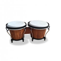 COPPIA BONGOS SOUNDSATION SB-NW10-DWS DARK WOOD SATIN