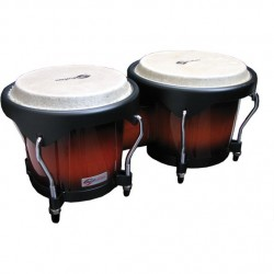 "BONGOS SOUNDSATION SB01-SB 6""+7"" SUNBURST HW-BK"