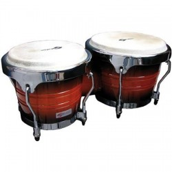 "BONGOS SOUNDSATION SB02-SB 7""+8"" SUNBURST HW-CH"