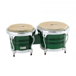 "BONGOS SOUNDSATION SB02-JG 7""+8"" JUNGLE GREEN HW-CH"