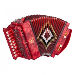ORGANETTO SOUNDSATION SAC-1202C-RD ROSSO IN DO