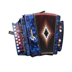 ORGANETTO SOUNDSATION SAC-1202G-BL BLUE IN SOL