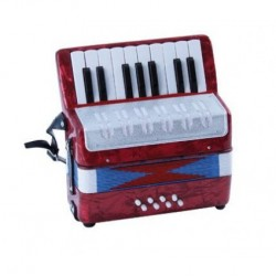 MINI FISARMONICA SOUNDSATION ST-178R ROSSA