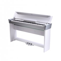 PIANO DIGITALE MEDELI COMPACT CDP6000S CON CABINET BIANCO/SILVER