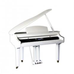 PIANOFORTE DIGITALE MEDELI GRAND 500GW CODINO TASTIERA FATAR GLOSSY WHITE