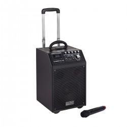 PA SYSTEM A BATTERIA DJTECH UCUBE 85 MK V CON MP3 E BLUETOOTH
