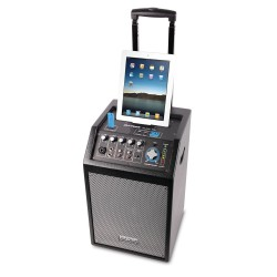 PA PORTATILE DJTECH ICUBE95 A BATTERIE CON DOCK IPHONE/IPAD
