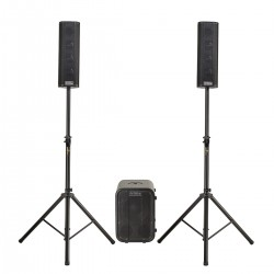 PA SYSTEM 2.1 DJTECH CUBE 203 MKII 560W