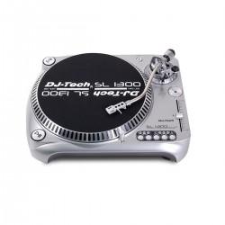 GIRADISCHI DJ-TECH SL1300MK6USB-SIL SILVER TRAZ. DIR. CON PUNTINA AT3600L