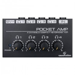 MINI AMPLIFICATORE PER CUFFIE SOUNDSATION POCKET-AMP