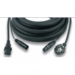 CAVO PHONO-RETE PF100-5 PER CASSE ATTIVE (3x1,5mm - 5 mt)