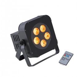 PAR LED A BATTERIA SOUNDSATION PAR-10W-5-BW RGBW WIRELESS