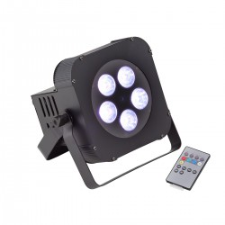 PAR LED A BATTERIA SOUNDSATION PAR-18W-5-B RGBWA+UV
