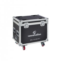 FLIGHT CASE PER COPPIA TESTA MOBILE MHL-132 / MHL-132MKII