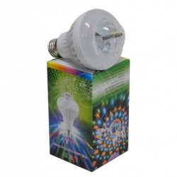 LED DIAMOND DELUXE LUCE BIANCA+MULTICOLOUR ROTANTE