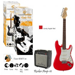 GUITAR PACK ELETTRICO SOUNDSATION ROCKER PACK CAR